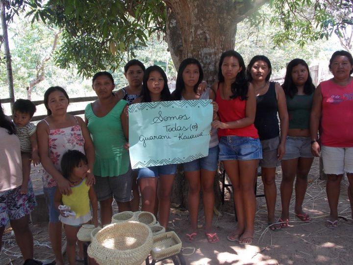Comin manifesta solidariedade às mulheres Guarani Kaiowá