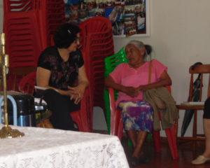 Intercâmbio Intercultural de Saberes e Sabores entre mulheres Kaingang e OASE