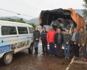 Pella Bethânia recebe contribuições de comunidades do Vale do Taquari
