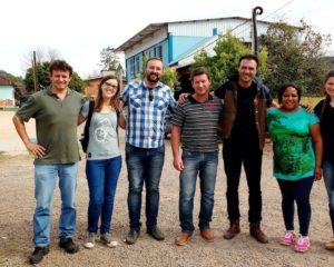 Assessoras e assessor da FLD visitam o Lar Padilha