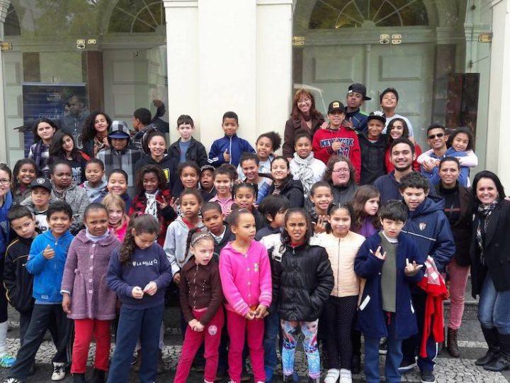 Crianças da CEDEL participam de Concertos Banrisul para Juventude