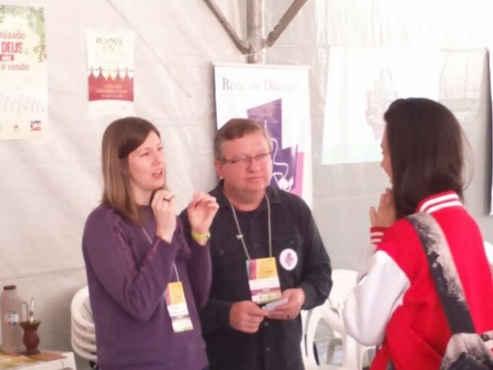 Jovens da IECLB conhecem a Rede de Diaconia