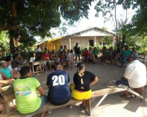 COMIN e CIMI assessoram assembleias dos Puruborá e Migueleno