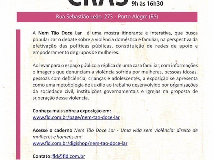 Exposição Nem Tão Doce Lar traz informações e imagens que denunciam violência doméstica