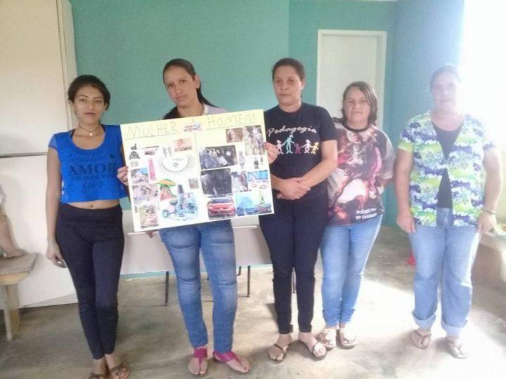 Grupo de mulheres da Comunidade São José conversa sobre questões de gênero