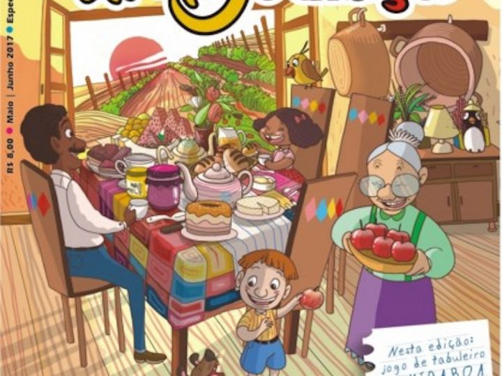 Campanha Comida boa na Mesa é tema da revista O Amigo das Crianças