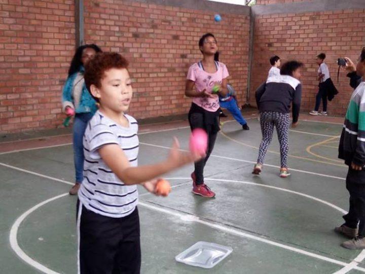 Crianças do Cedel participam do Dia do Desafio