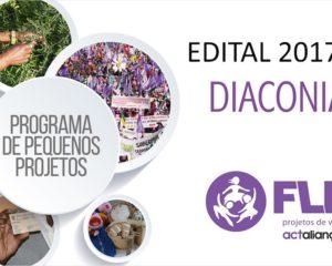 FLD divulga projetos apoiados no Edital de Diaconia do segundo semestre de 2017