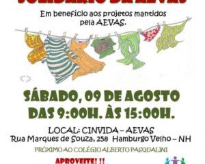 Mega Brechó Solidário da AEVAS