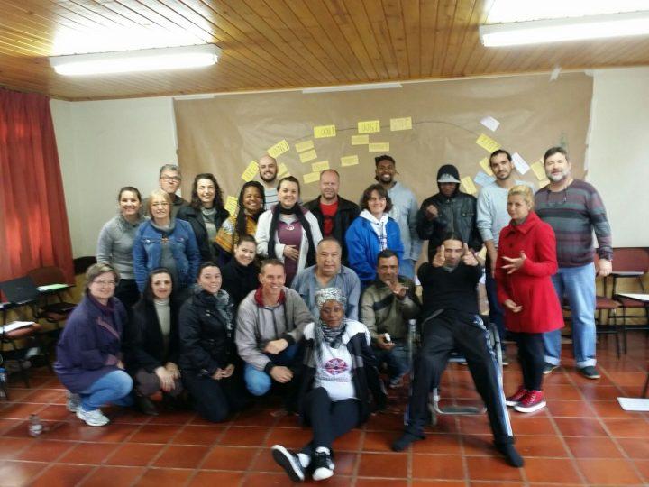 Representantes de entidades diaconais participam do curso Gestão Democrática e Transparente