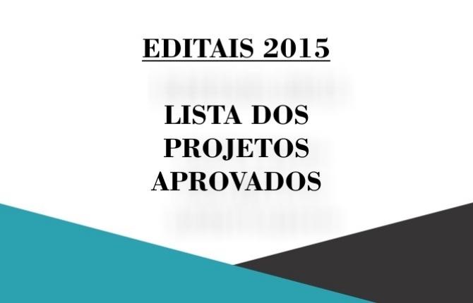 Confira a lista dos projetos aprovados nos Editais FLD 2015