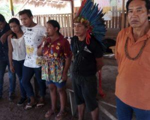 Carta do encontro de guerreiros e guerreiras em defesa dos povos e do rio Ji-Paraná/RO