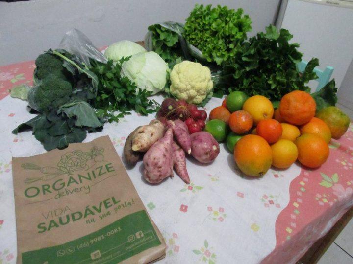 Jovens criam empreendimento de entrega de alimentos orgânicos