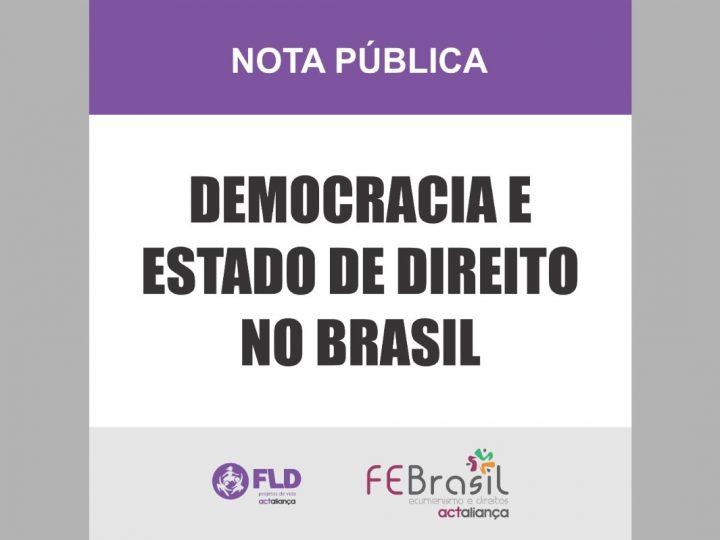 Aliança ACT denuncia violação das prerrogativas de independência e imparcialidade do Judiciário