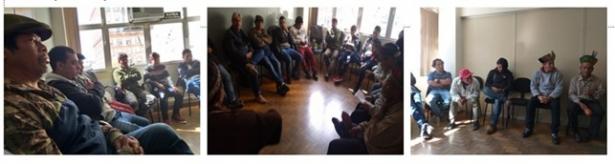 Lideranças Guarani se reúnem em Porto Alegre para discutir conjuntura e definir estratégias de luta, articulação e mobilização