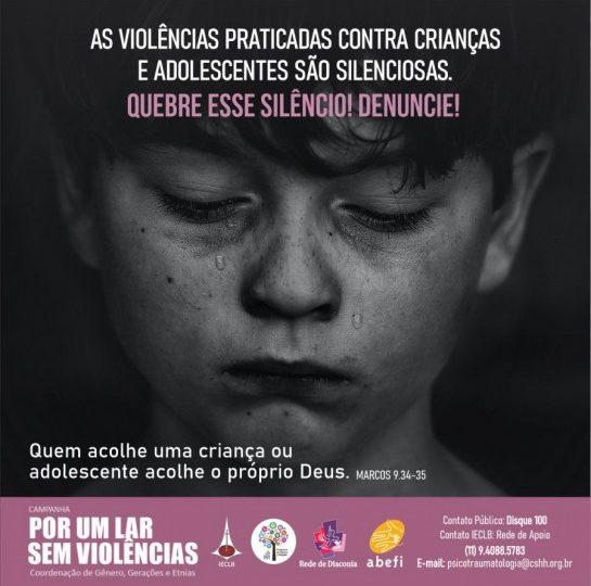 CAMPANHA Por um lar sem violências! – Crianças e Adolescentes