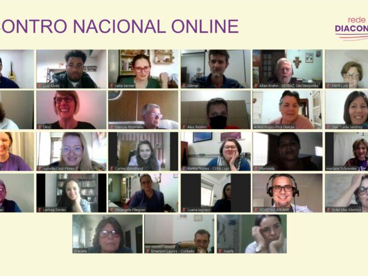 Encontro Nacional Online da Rede de Diaconia